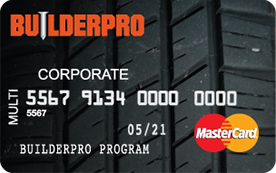 BuilderPro Fleet Card Mastercard® By Comdata | Best Fleet Fuel Card