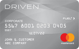 The Driven Card MasterCard® | Gas Cards for Business