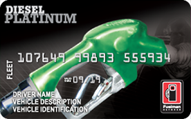 Fuelman Diesel Platinum Fleet Card | Fuel Cards for Truckers