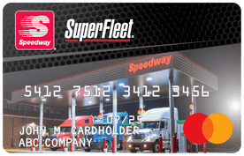 Speedway SuperFleet Mastercard | Fleet Cards for Fuel