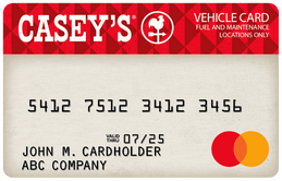 Casey's Business Mastercard by FleetcardsUSA